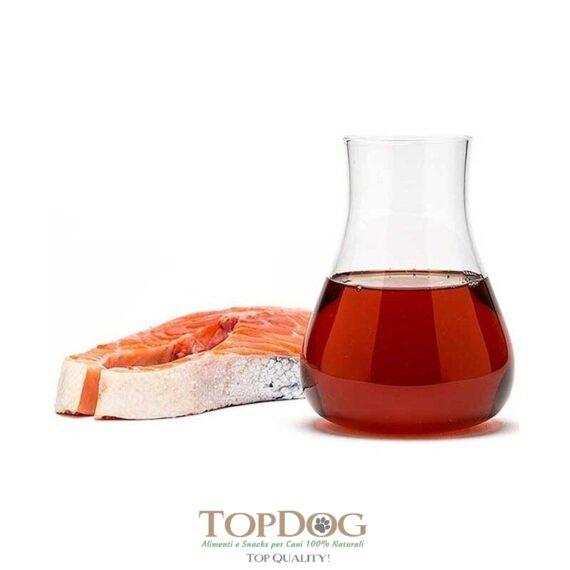 miglio olio di salmone per cani