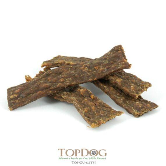Carne di tacchino essiccata per cani.