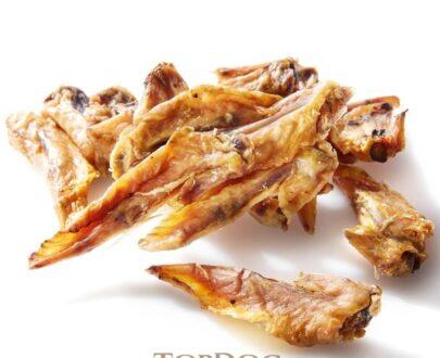 ali di pollo essiccate per cani