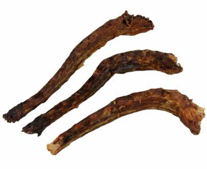 colli di oca essiccati per cani