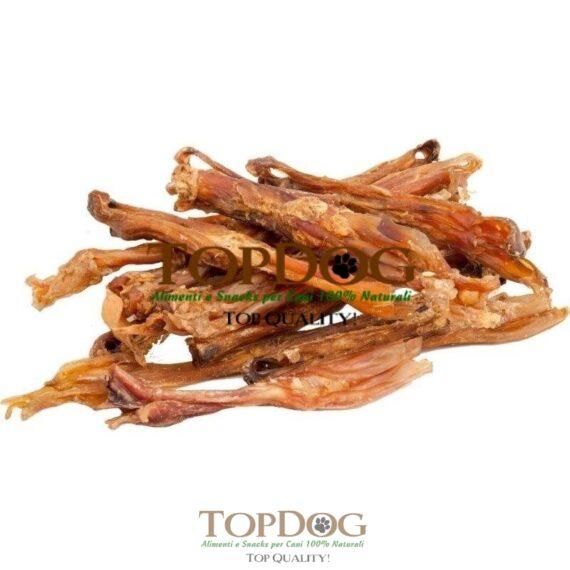 Tendini di Achille essiccati per cani