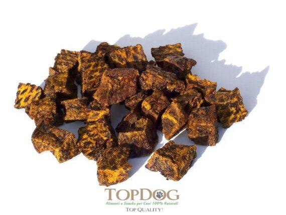 Carne Essiccata di Agnello a cubetti per cani