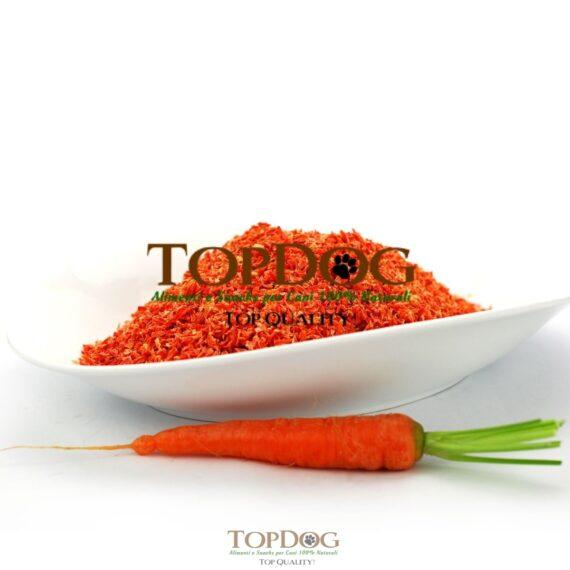 Fiocchi di carota disidratata per cani - BARF