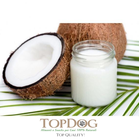 Olio di cocco Extravergine per cani