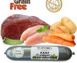 Salamotto di carne per cani al Manzo Grain Free 500gr