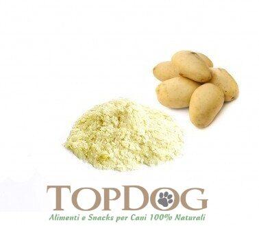 Fiocchi di patate disidratate BIO per cani